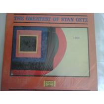 Lp Jazz De Stan Getz The Greatest Of/primera Edicion Naciona