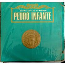 Pedro Infante Album 3 Lps Exitos De Sus Peliculas Vol.1 1976