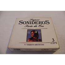 Cd Super Sonideros Varios Artistas 3 Cd