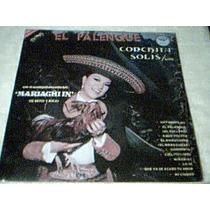 Disco Lp Conchita Solis - El Palenque - Nuevo - Autografiado