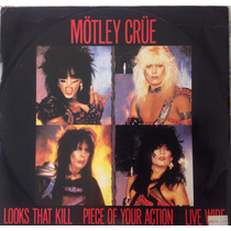 Motley Crue - Looks That Kill (uk) Maxi Single
