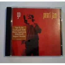 Pearl Jam Maxi-single Go Importado