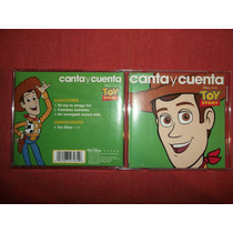 Toy Story - Canta Y Cuenta Cd Usa Ed 2010 Mdisk