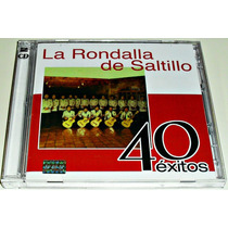Cd Doble La Rondalla De Saltillo / 40 Exitos Seminuevo
