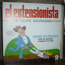Gabino Palomares Los Folkloristas Lp El Extensionista