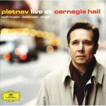 Pletnev - Live At Carnegie Hall Cd Piano Bach Beethoven Op4