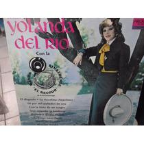 Yolanda Del Rio Con La Banda El Recodo Lp
