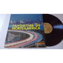 Favoritas De Norteamerica Lp Vinyl Solo Para Coleccionistas