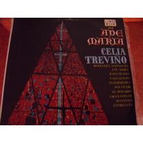 Lp Celia Treviño, Ave Maria, Disco Rojo, Envio Gratis