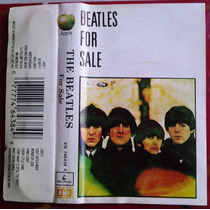 The Beatles For Sale Cassette Raro Mexicano 1991 Fn4