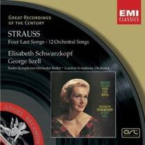 Strauss Four Last Songs Cd Clasica Schwarzkopf Opera Op4