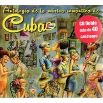 Antología De La Música Romántica De Cuba 2 Cd