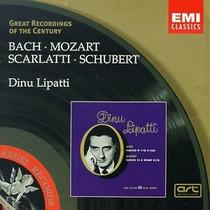 Dinu Lipatti - Bach Mozart Schubert Cd Piano Clasica Op4