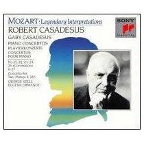 Casadesus Mozart Conciertos Para Piano 3cd Envio Gratis Lqe