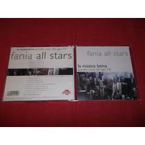Fania All Stars - La Musica Latina Cd Nac Ed 2000 Mdisk