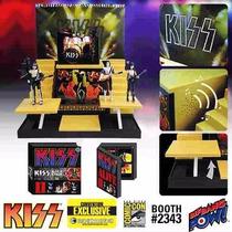 Kiss Alive Ii Escenario Y Figuras Deluxe Box Set