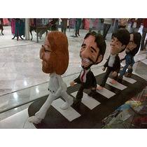 Figura De Resina De Los Beatles