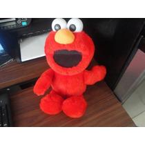 Peluche De Elmo Plastas Panza Y Se Rie