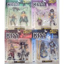 Mc Farlane Toys, Kiss Psycho Circus, Set De 4 Figuras