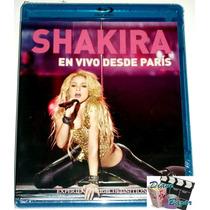 Envio Gratis!! Blu-ray Shakira En Vivo Desde Paris!! Omm