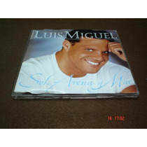 Luis Miguel - Cd Single - Sol, Arena Y Mar Lqe