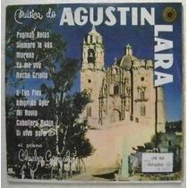 Agustin Lara Al Piano Chucho Gonzalez 1 Disco Lp Vinilo