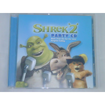 Cd De Shrek 2:party Cd 6 Canciones Y 6 Postas Para Karaoke