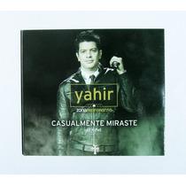 Yahir Casualmente Miraste Cd + Dvd Sencillo Mexicano 2013