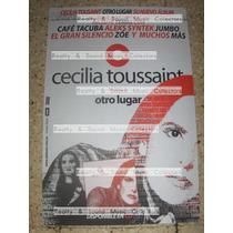 Cecilia Toussaint Poster Otro Lugar Cafe Tacuba Zoe Syntek!!