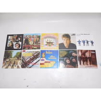 The Beatles 10 Portadas Cd´s Discos Coleccion E824