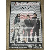 Cafe Tacuba Poster Oficial Gira Japon Sino!! Tacvba Qk