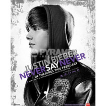 Justin Bieber Cartel - Never Say Never 40cmx 50cm Mini