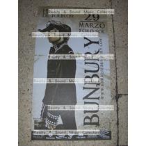 Bunbury Hellville De Tour! Poster Oficial De Coleccion!!