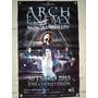 Arch Enemy Manta Promocional Del Concierto 2015 Autografeada