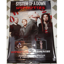 System Of A Down Hypnotize Lona Oficial Promo Muy Rara