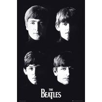 El Cartel De Los Beatles - Con Maxi 61x 91.5cm Música Rock N