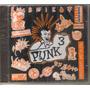 Punk - Volumen 3 ( Compilado Hardcore Punk Mexicano) Cd Rock