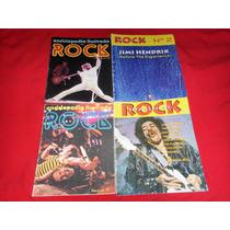 Enciclopedia Ilustrada Del Rock Y Estrellas Del Rock Lote D4