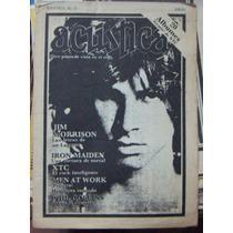 Revista Acustica,phil Collins,iron Maiden #15 1983