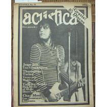 Revista Acustica,joan Jett,thompson Twins,chac Mool 1983