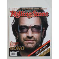 2006 Bono U2 Revista Rolling Stone Mexico #40