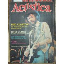 Revista Acustica, Eric Clapton, Peter Gabriel 1982