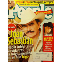 Joan Sebastian Valentin Elizalde Celia Cruz Revista People