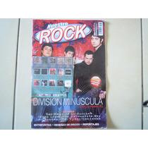Division Minuscula Revista + Cd Nuestro Rock