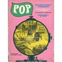 Revista Pop # 38 ·julio 251969 · John Y Yoko ·