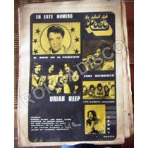 Revista, La Edad Del Rock, Los Who, Robert Plant, 1972