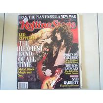 Led Zeppelin Revista Rolling Stone Importada Año 2006