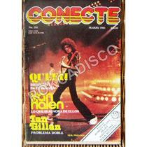 Revista Conecte, Devo, Queen, Van Halen, Marzo 1983