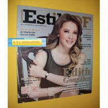Edith Gonzalez Revista Estilo Df 2013