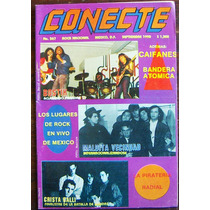 Revista Conecte,bostik,maldita Vecindad,poison,iron Maiden